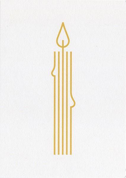 logo / candle