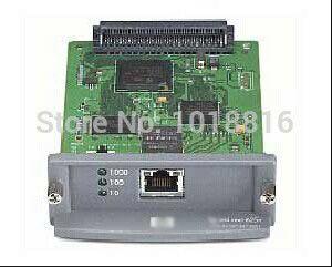 Free shipping 100% original JetDirect 625N J7960G Ethernet Internal Print Server Network Card and DesignJet Plotter Printer #Affiliate