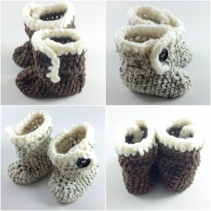 A personal favourite from my Etsy shop https://www.etsy.com/uk/listing/398339303/crochet-handmade-ugg-booties-crocheted