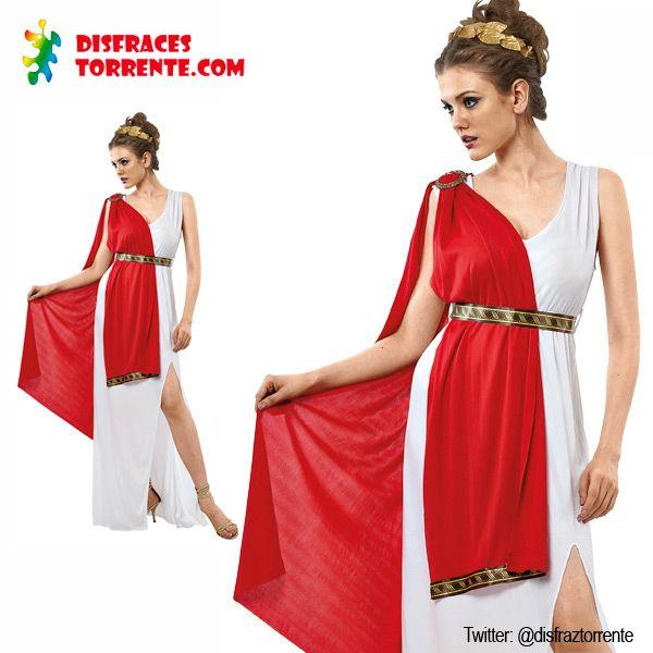 Disfraz de Romana para mujer. Bonito disfraz con un toque sexy. Diosas romanas al poder.