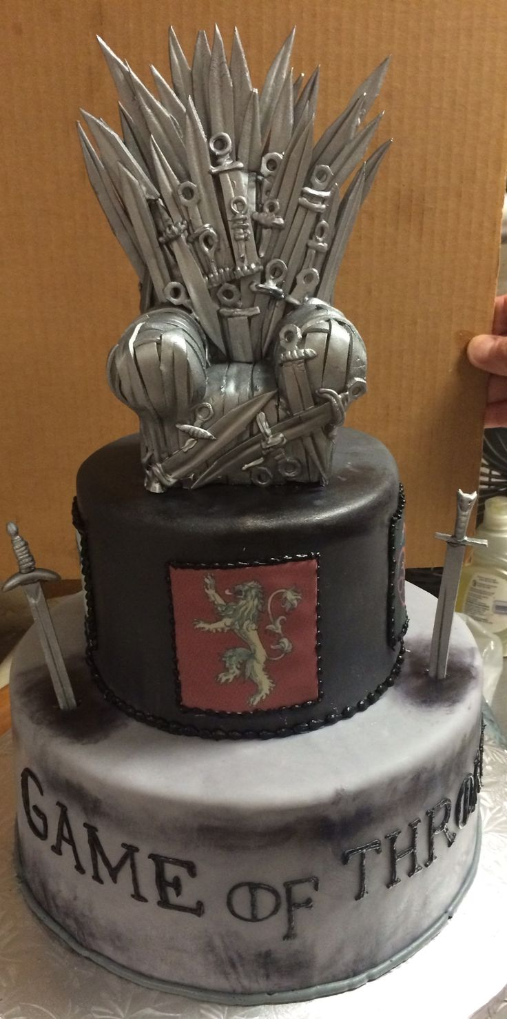 Game of Thrones I Groom's Cake | Specialty Cakes by ...