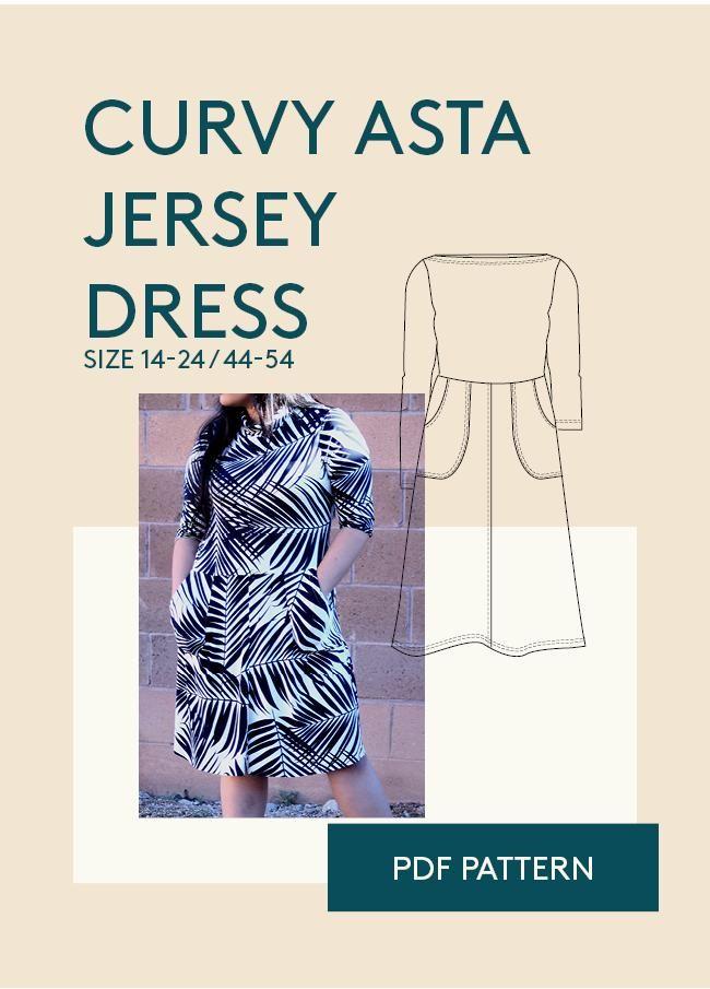 37 besten Skater dress PDF sewing pattern womens jersey dress sewing ...