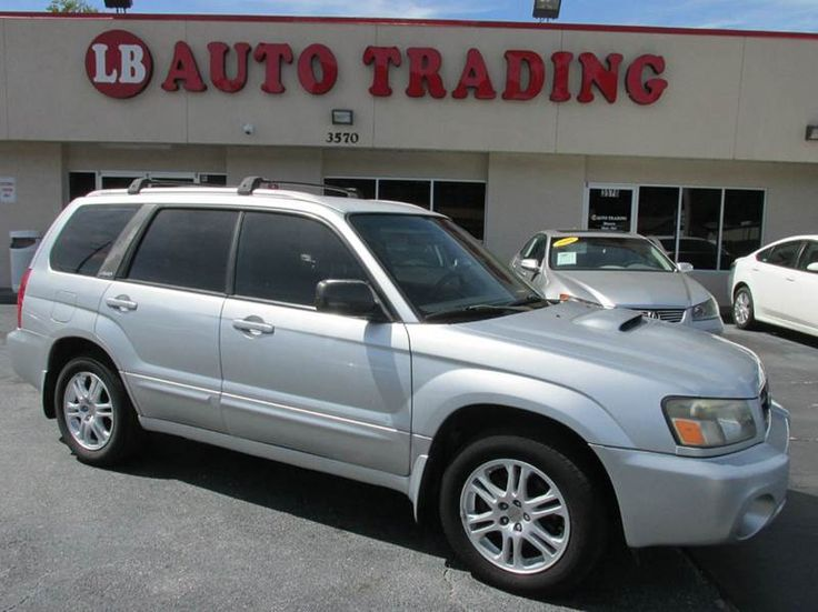 2004 Subaru Forester AWD 4dr XT Turbo Wagon AVAILABLE FOR SALE www.lbautotrading.com USED CAR FOR SALE