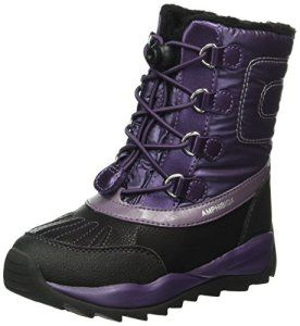 Geox J Orizont B Girl Abx E, Bottes de Neige Fille, Violet (VIOLETC8015), 35 EU