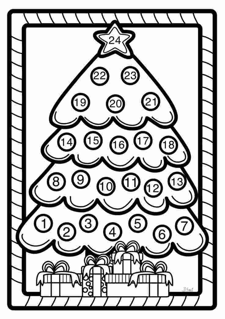Coloring Pages Christmas Advent Calendar Coloring Pages New 45
