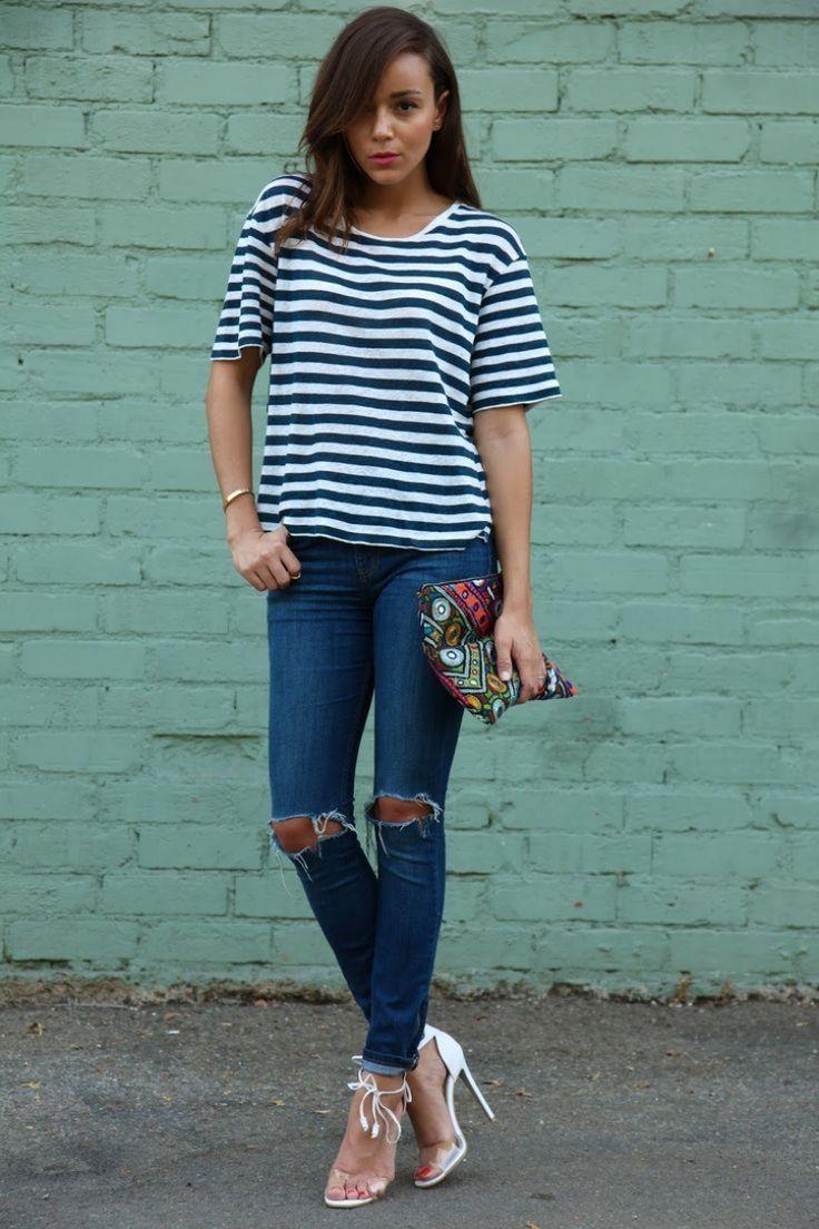 Die besten 25 zerrissene jeans ideen auf pinterest for Zerrissene jeans selber machen