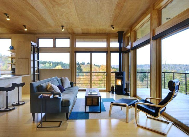 Sustentável Metal-Clad Torre casa possui Glen Lake um vidro Crown Com vista de Michigan   Inhabitat - Green Design, Inovação, Arquitectura, Construção Verde
