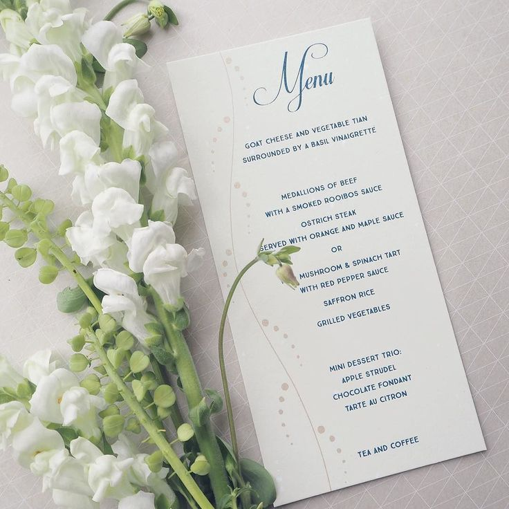 17 best Menu real images on Pinterest | Wedding menu cards ...