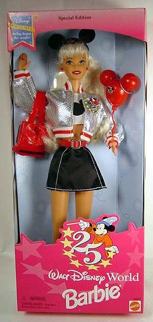 Walt Disney World Barbie, #16525