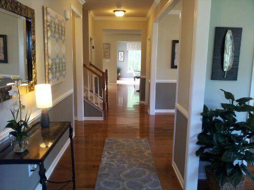 Love the paint options/design, love the hallway! - Ryan Homes, Rome Model