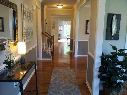 Love the paint options/design, love the hallway! - Ryan Homes, Rome Model