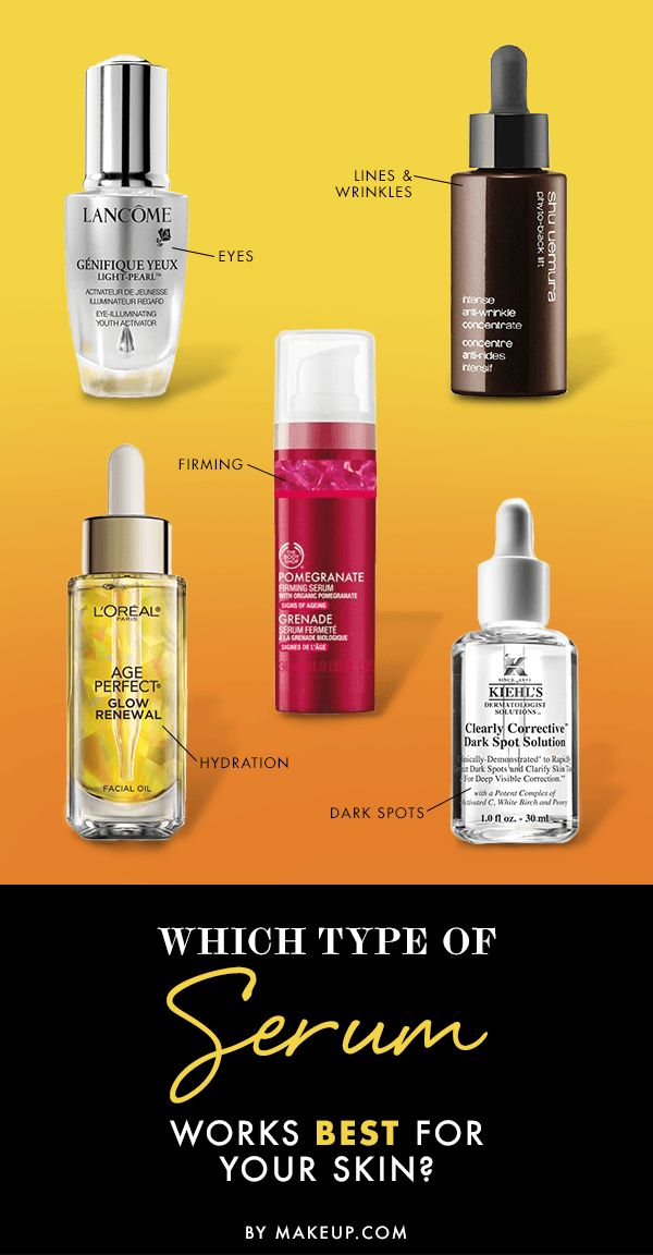 Which Type of Serum Works Best for Your Skin? - makeup.com
