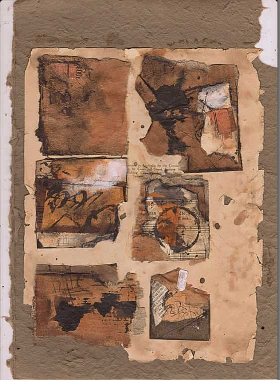 6 mini collages.