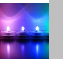 Submersible Lights: Floralytes, AquaBrites, and Ice Cubes