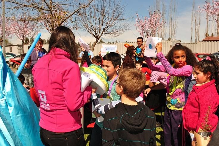 Celebración del Día del Niño para los hijos de los Funcionarios de la Universidad.