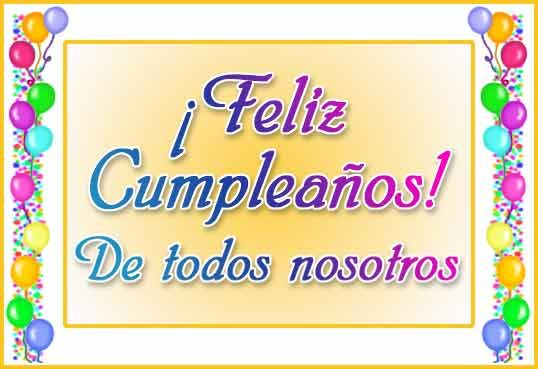 Muy Feliz Cumpleaños Teresa Restegui http://www.pinterest.com/teretegui/
