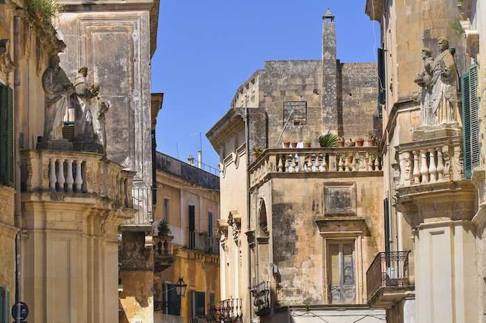 There's always something to behold in Lecce's streets