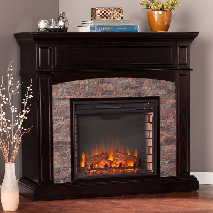Southern Enterprises Grantham Corner Electric Fireplace - HN7124-0