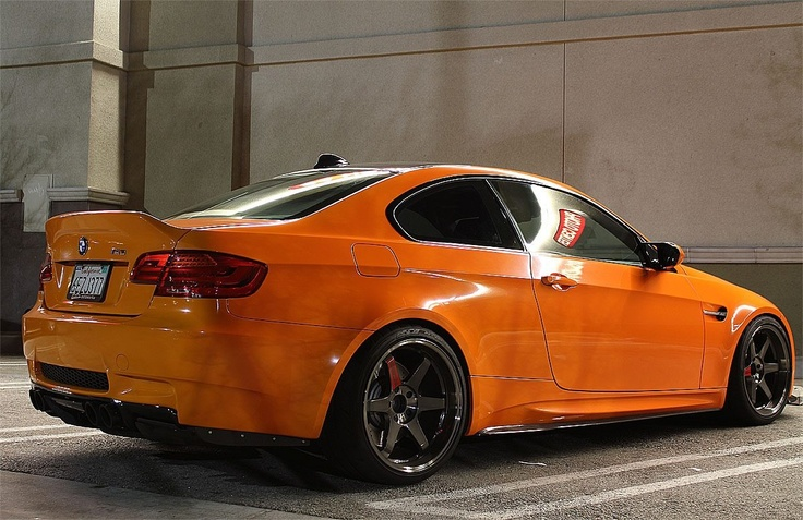 Diggin' the Orange paint + TE37 Combination..