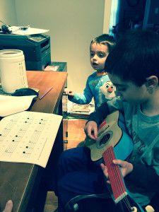 Homeschooling with Gentle Guitar ~ My Little Poppies