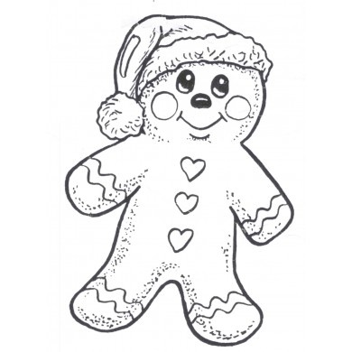 108 Best Images About Color Pages On Pinterest Coloring Mermaid Giant Shrek Gingerbread Man Page Christmas