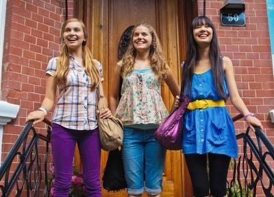 Ally Henson, Emma Schubert, Jackie Lee.