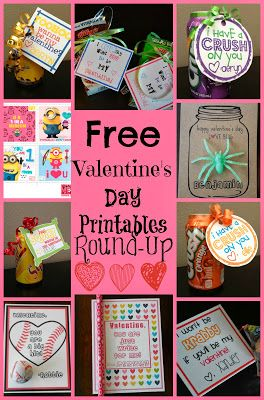 Kids Free Valentines Day Card Printable Round Up - PR Friendly Mom Blogger -MomsReview4You