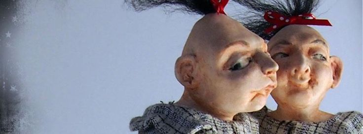 Quirky Zippy Pinhead dolls