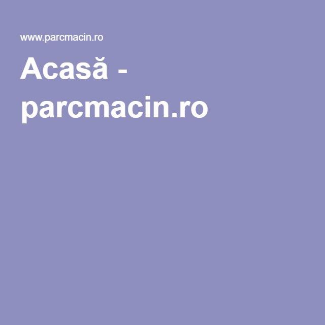 Acasă - parcmacin.ro