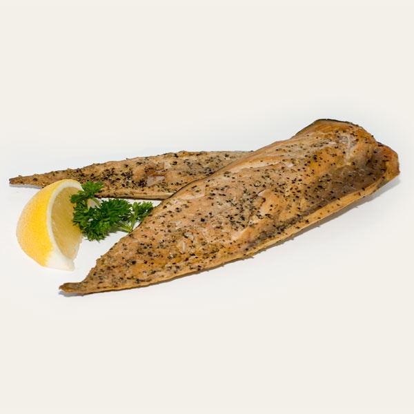 Lemon Pepper Smoked Mackerel  From J. Willy Krauch & Sons Ltd.  Tangier, Nova Scotia, Canada