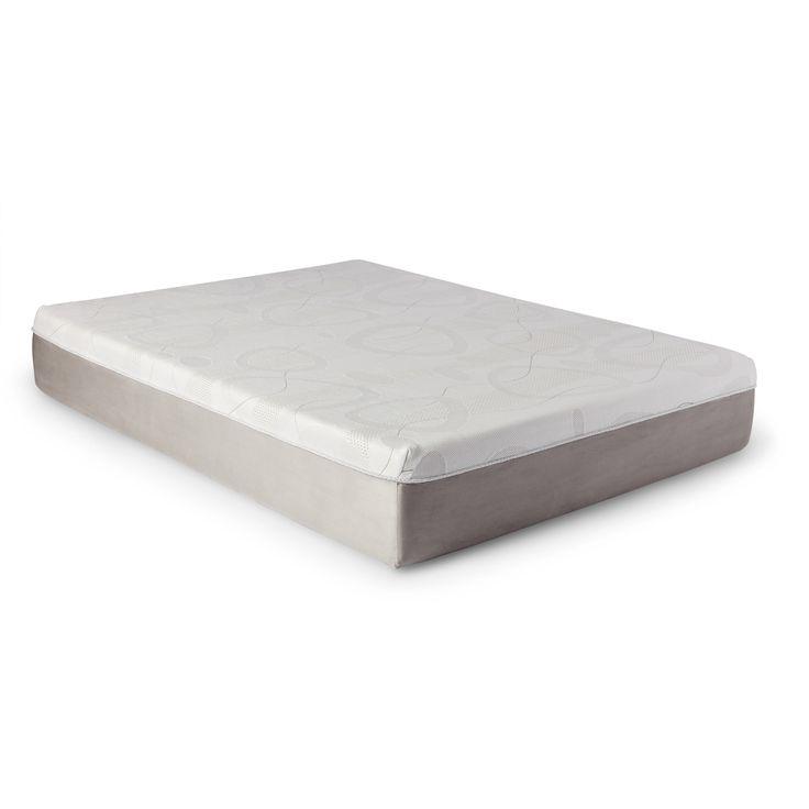 slumber solutions choose your comfort 12inch twinsize memory foam mattress twin firm white - Slumber Solutions