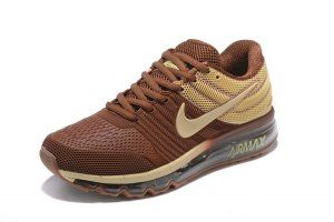 5622dd85244 Mens Nike Air Max 2017 KPU Coffee Brown Beige 849560 312 Running Shoes