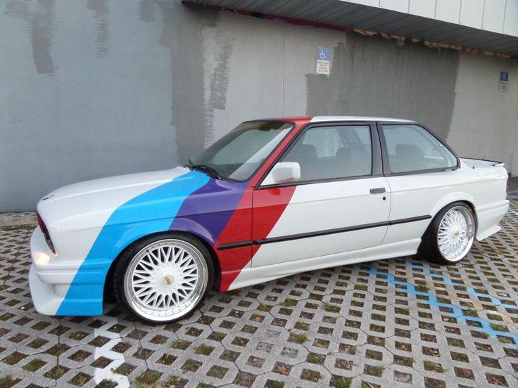 Car brand auctioned:BMW: 3-Series 1987 Car model bmw 325 e e 30 custom