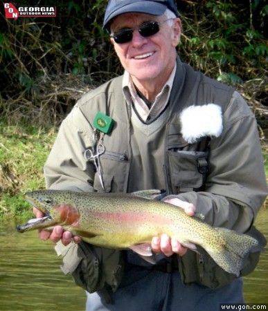 Georgia top trout streams georgia outdoor news trout for Fly fishing north georgia