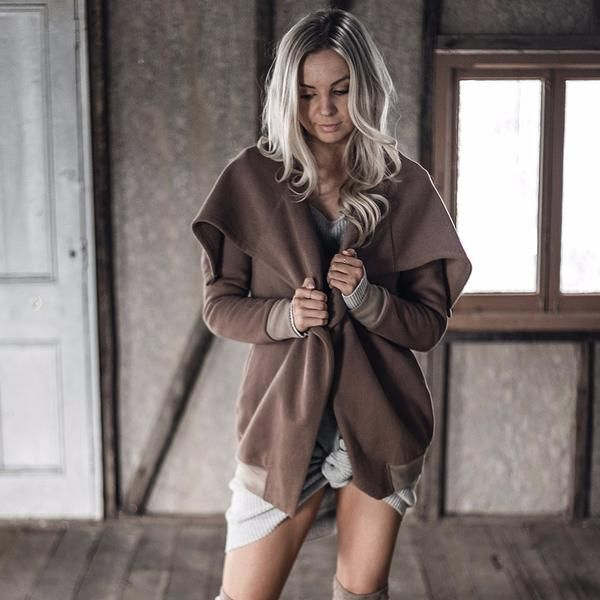 Possibly the most comfortable jacket you will own this winter!  Extremely warm and an absolute staple piece!   from www.mermaidblonde.com