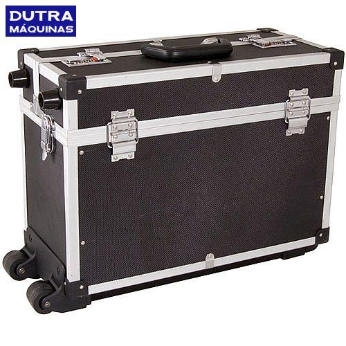 Maleta em plástico 455 x 205 x 320 mm para ferramentas com rodas - MF961 - 35.99.961.000 - Vonder - Dutra Máquinas