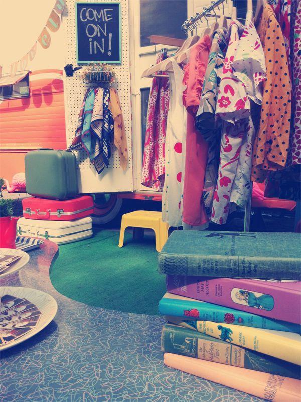 Mobile vintage shop.