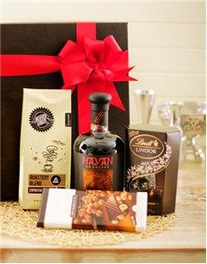 Chocolate Gifts and Hampers - Lindt: Mayan XO Coffee Liqueur and Lindt  Hamper!