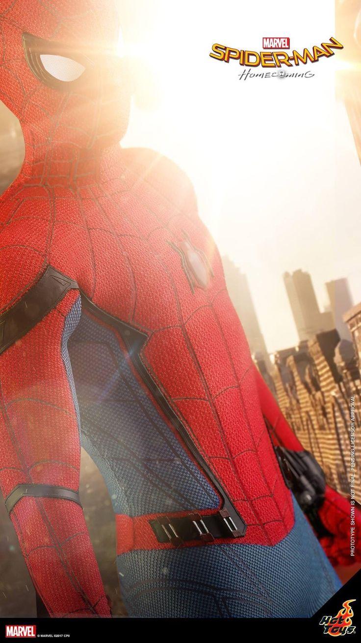 Un primer vistazo del Hot Toys de Spider-Man: Homecoming.