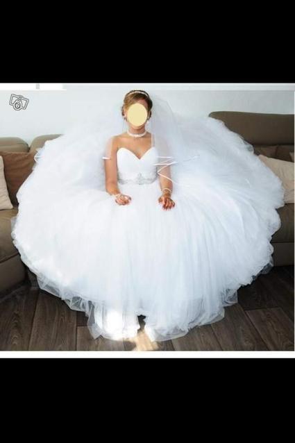 Vend ou loue agnifique robe de mariée Demetrios 532 - Isère