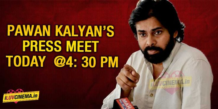 Watch: Pawan Kalyan's Press Meet Live!!