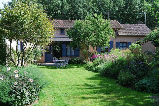 Le jardin du peintre André Van Beek....