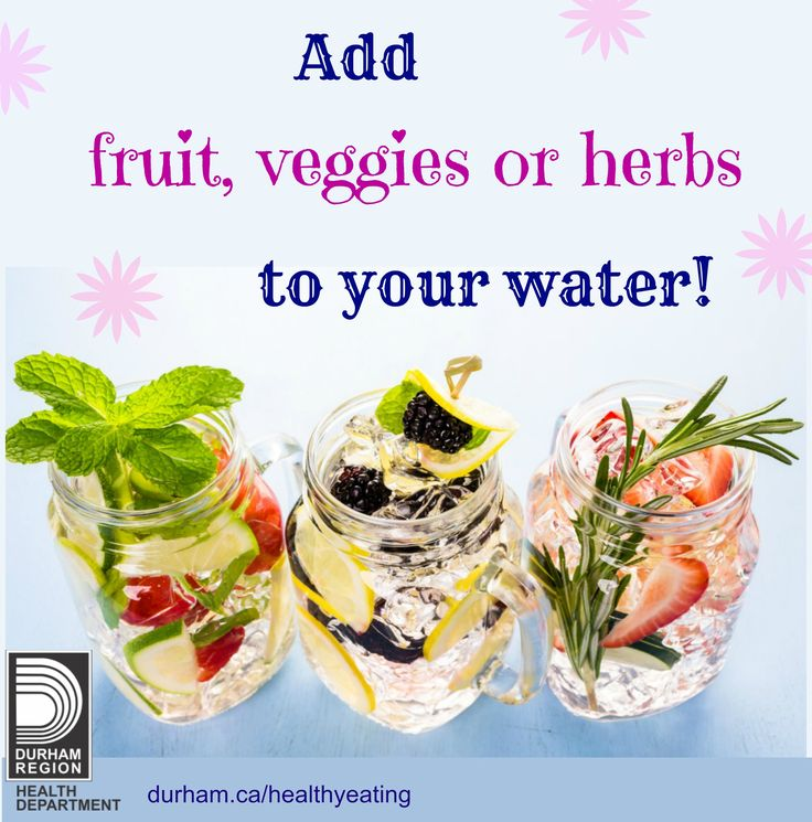Adding fruit, vegetables and herbs to your water for flavour is a great way to satisfy your thirst. Try adding limes, lemons, cucumber, rosemary, mint…or your own combination of flavours. How about trying in season #fruitsandveggies you think might taste good in water!