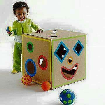 Shape play box