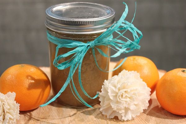 That's it. In less than 10 minutes, your scrub is made. Now, you can package it in a charming mason jar (which can be reused or recycled) and personalize it with everything from raffia ribbons to chalkboard painted lids.