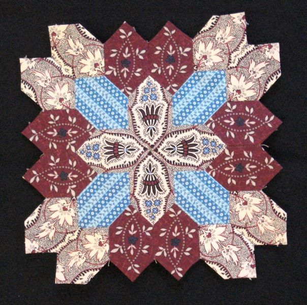 Lucy Boston Block 35 by Muriel for the POTC Blog Along at Little Quilts