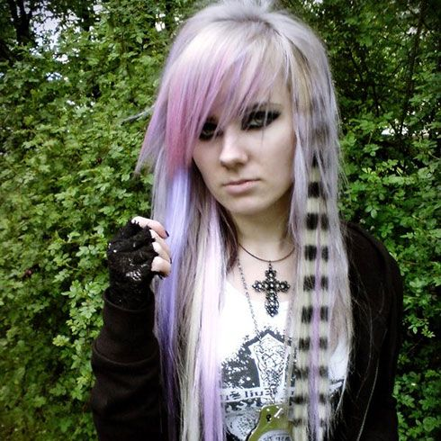 scene girls haircuts, styles, and colors pics   29 Scene Hairstyles For Girls