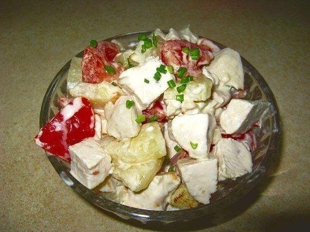Фото к рецепту: Салат Любимая женщина
