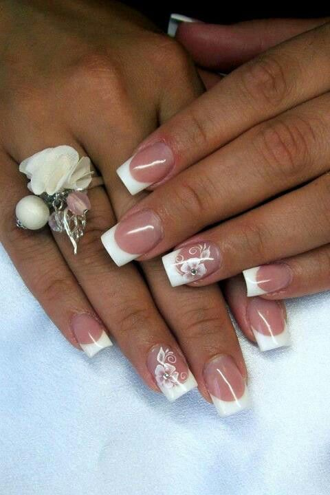 Best 25+ French tip nails ideas on Pinterest | French nails, French tips  and French tip manicure - Best 25+ French Tip Nails Ideas On Pinterest French Nails