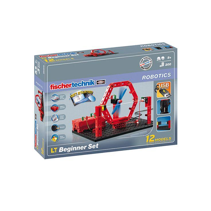Конструктор FischerTechnik, ROBO LT Beginner Set 8+, за деца над 8 г. | Хоби Арт